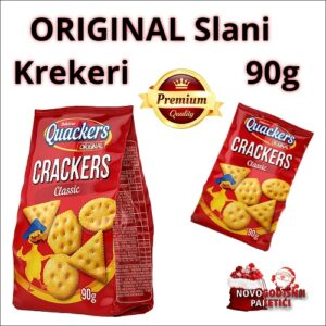 Quackers original Crackers classic 90g