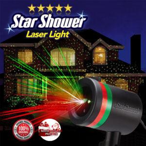 Novogodišnji laser sa savršeno ukrašavanje kuća